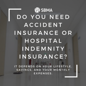 What's the difference between hospital indemnity policies and accident insurance?