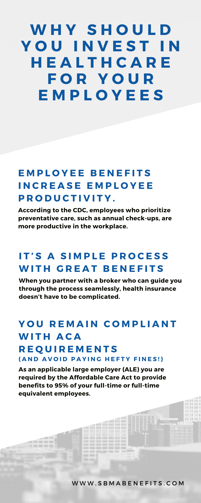 Why invest in health insurance for your employees?