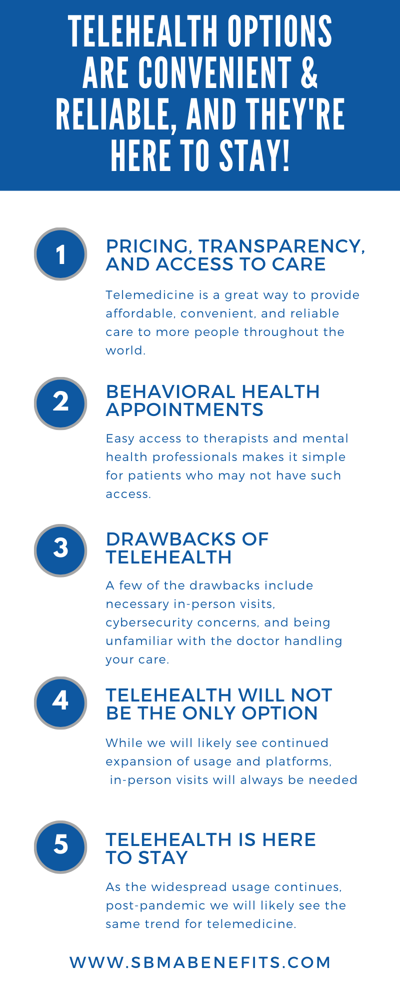 Telehealth is Convenient Reliable and Here To Stay!