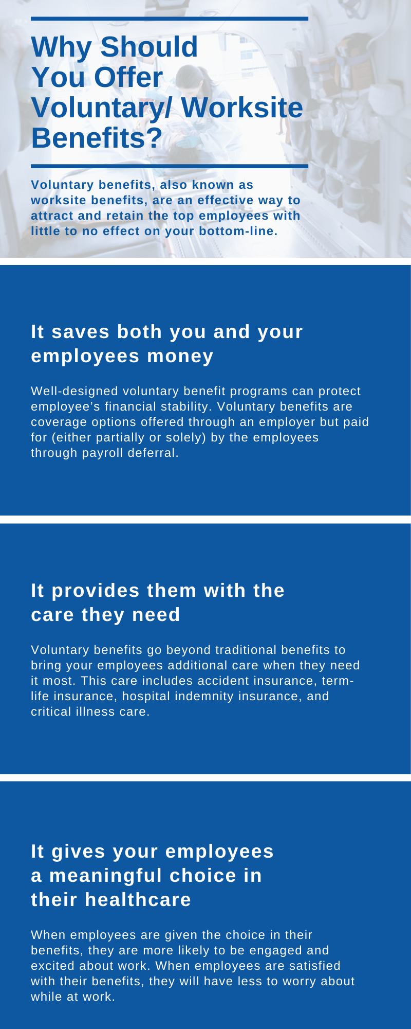 Why Should You Offer Voluntary Benefits?