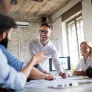 How do benefits improve employee morale