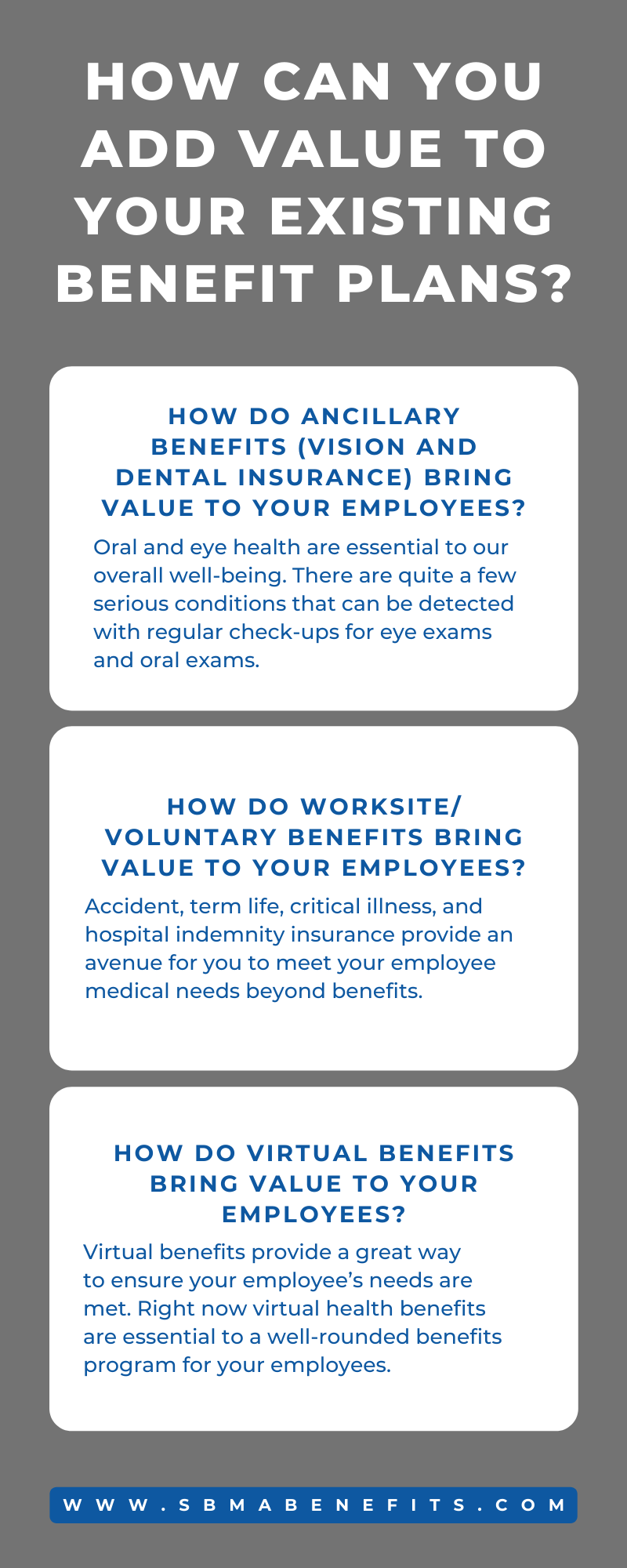 How Can You Add Value to Your Existing Benefit Plans?